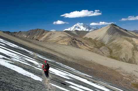 Cordillère Royale, face au Huayna Potosi - Bolivie -