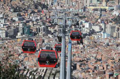 La Paz, balade en téléphérique - Bolivie -