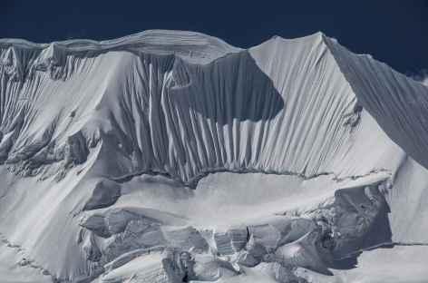 Plein cadre sur l'Illimani - Bolivie -
