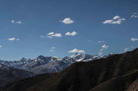 Dernier regard sur la Cordillère Quimsa Cruz - Bolivie -