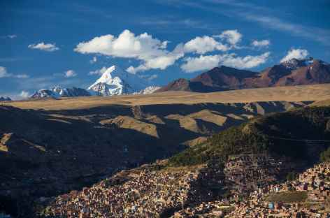 La Paz et le Huayna Potosi - Bolivie -