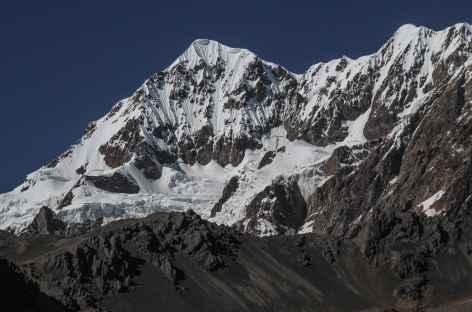 Plein cadre sur le versant Nord de l'Illimani - Bolivie -