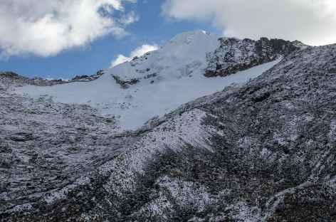 Réveil au pied du Choquetanga - Bolivie -