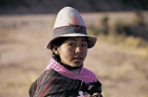 Rencontre dans les Andes - Bolivie -