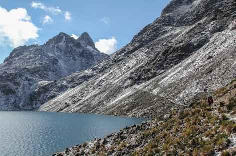 La lagune Chatamarca et le col Enrique - Bolivie -