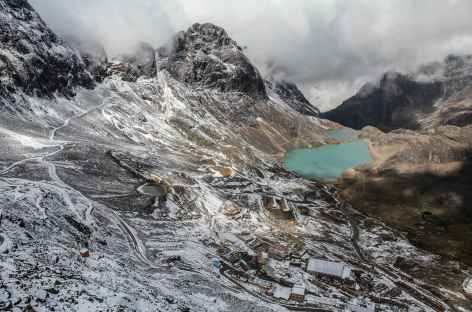 Descente vers le village de Pacuni - Bolivie -