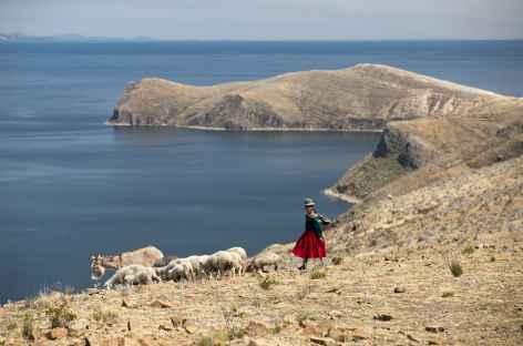 Balade sur les crêtes de l'île du Soleil - Bolivie -