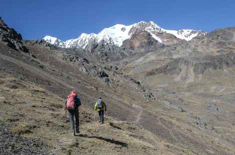 En chemin vers Mina Aguila - Bolivie -