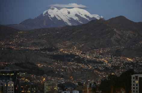 La Paz de nuit - Bolivie -
