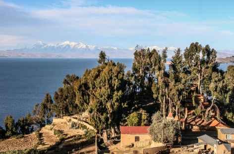 Le village de Yumani et la Cordillère Royale - Bolivie -