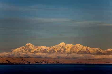 Coucher de soleil sur la Cordillère Royale - Bolivie -
