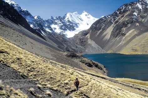 Cordillère Royale, marche face au Condoriri - Bolivie -