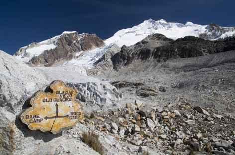 Cordillère Royale, au pied du Huayna Potosi - Bolivie -