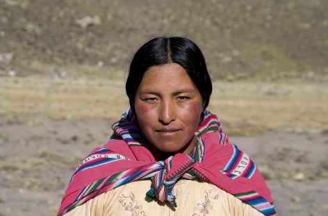 Cordillère Royale, notre cuisinière - Bolivie -