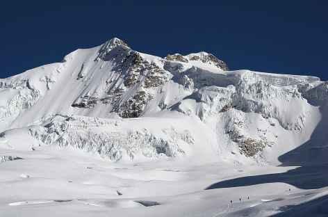 Au cours de l'ascension du Huayna Potosi - Bolivie -