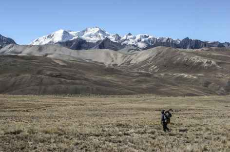 Cordillère Royale, au col Chotanlona - Bolivie -
