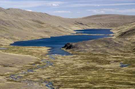 Cordillère Royale, belles lagunes - Bolivie -