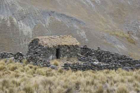 Cordillère Royale, une maison de berger - Bolivie -