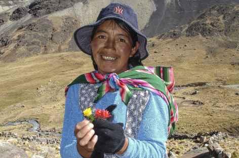 Cordillère Royale, Rencontre dans les Andes - Bolivie -