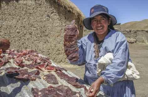Cordillère Royale, dans le village de Tuni - Bolivie -