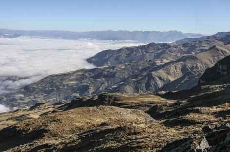 Cordillère Royale, sur les hauteurs de Sorata - Bolivie -