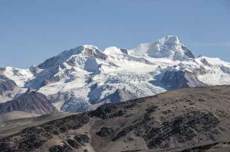 Cordillère Royale, vaste panorama sur les massifs de l'Ancohuma et Illampu - Bolivie -