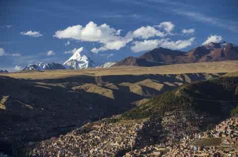 La Paz et le Huayna Potosi -