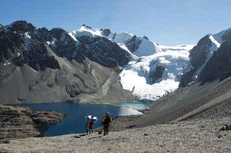 Cordillère Royale, la laguna Wara Warani - Bolivie -