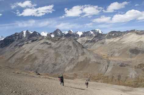 Cordillère Royale, en chemin - Bolivie -