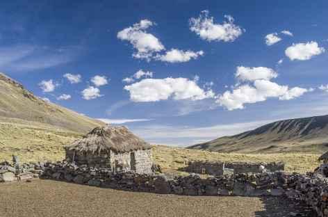 Cordillère Royale, ferme d'alpage - Bolivie -