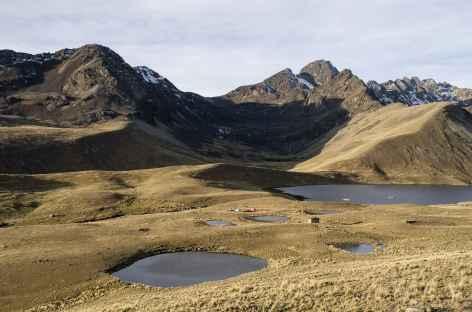 Cordillère Royale, les lagunes Ajwani - Bolivie -