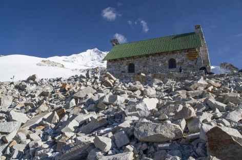 Le refuge du Huayna Potosi -