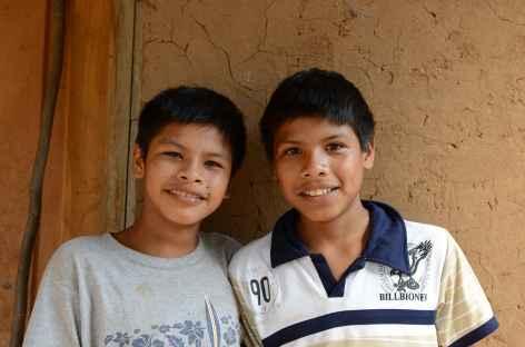 Enfants de San Juancito - Bolivie -