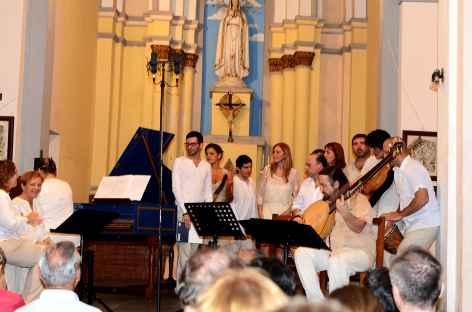 Concert de l'ensemble argentin Confluencia Barroca - Bolivie -