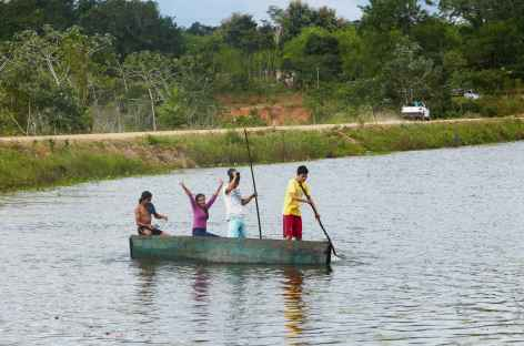 Le lac de San Juancito - Bolivie -