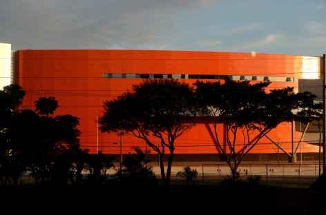 Façade moderne à Santa Cruz - Bolivie -