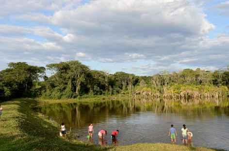 Petit lac près de San Juancito - Bolivie -