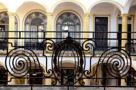 Fer forgé du musée de Santa-Cruz - Bolivie -