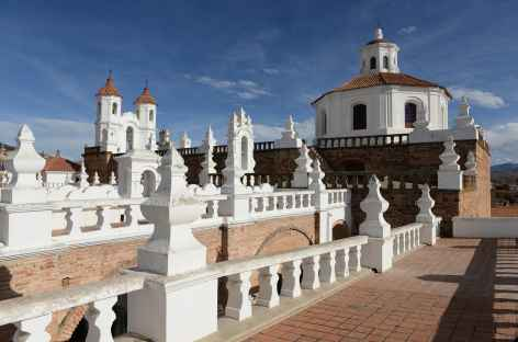 Depuis les toits du monastère San Filipe Neri à Sucre - Bolivie -