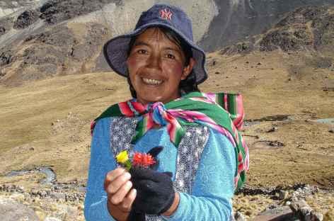 Rencontre dans la Cordillère - Bolivie -