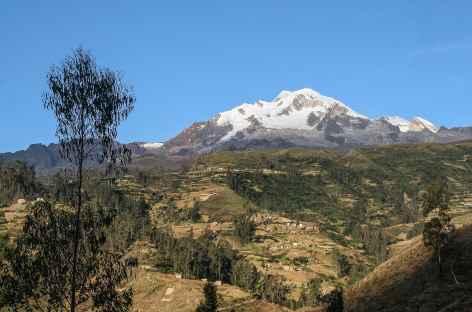 La vallée de Sorata au pied de l'Illampu - Bolivie -