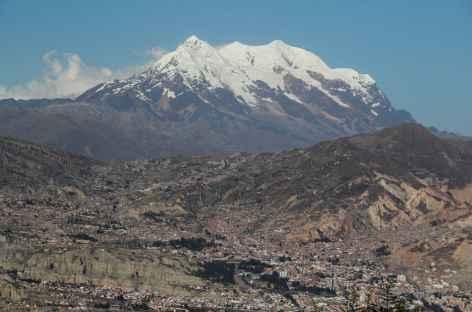 La Paz et l'Illimani - Bolivie -
