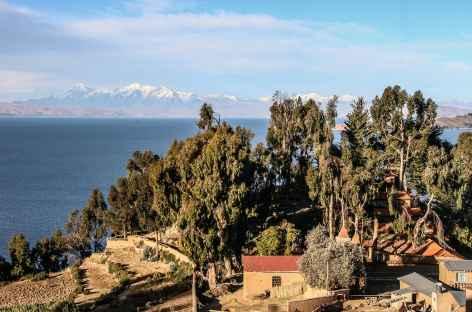 Le village de Yumani sur l'île du Soleil - Bolivie -
