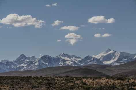 Panoramique de la Cordillère Quimsa Cruz depuis la route - Bolivie -