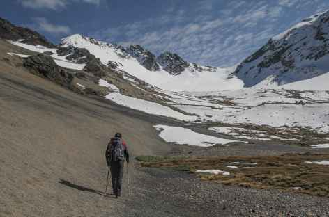 Entre Cololo et Huanacani - Bolivie -