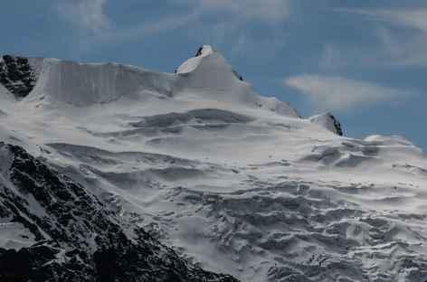 Le Cerro Presidente au-dessus du col Pelechuco - Bolivie -