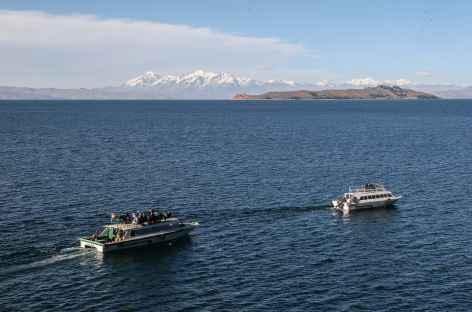 Traversée en bateau du lac Titicaca - Bolivie -
