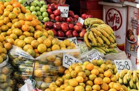 Un étal sur un marché - Bolivie -