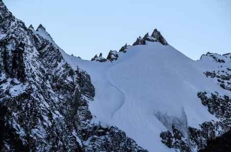 Dans la vallée au-dessus de Viloco - Bolivie -