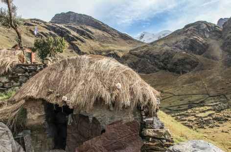 Une maison typique dans la vallée de Kanisaya - Bolivie -